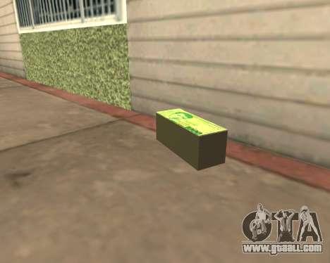 1000 Armenian Dram for GTA San Andreas third screenshot