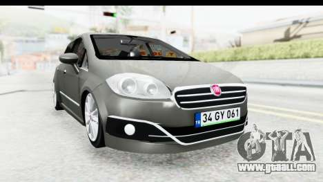 Fiat Linea 2015 v2 Wheels for GTA San Andreas right view