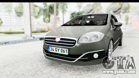 Fiat Linea 2015 v2 Wheels for GTA San Andreas