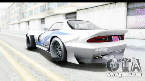 GTA 5 Bravado Banshee 900R Carbon Mip Map IVF for GTA San Andreas