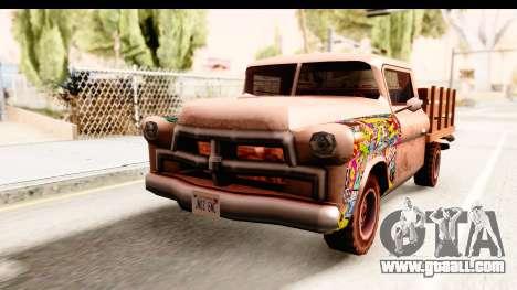 Walton Sticker Bomb for GTA San Andreas right view