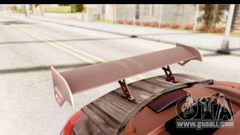 Renault Megane Spyder Full Tuning v2 for GTA San Andreas upper view