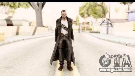 Marvel Heroes - Blade for GTA San Andreas second screenshot