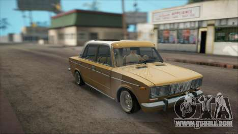 VAZ 2106 Summer for GTA San Andreas back view