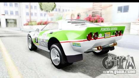 GTA 5 Lampadati Tropos Rallye No Headlights for GTA San Andreas interior