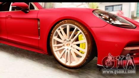 Porsche Panamera 4S 2017 v5 for GTA San Andreas back view