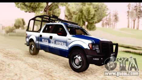 Ford F-150 Policia Federal for GTA San Andreas right view