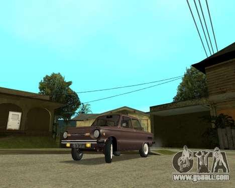 ZAZ 968M Armenia for GTA San Andreas