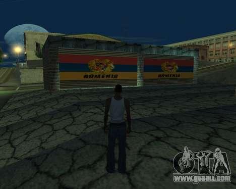 New garage Armenia for GTA San Andreas third screenshot