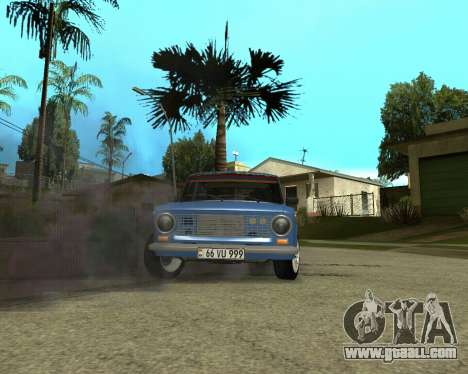VAZ 2101 Armenia for GTA San Andreas inner view