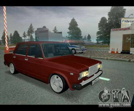 Lada 2107 Jiguar for GTA San Andreas