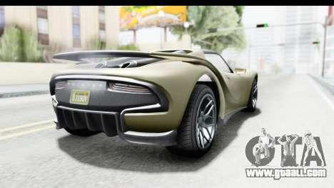GTA 5 Pfister 811 IVF for GTA San Andreas left view