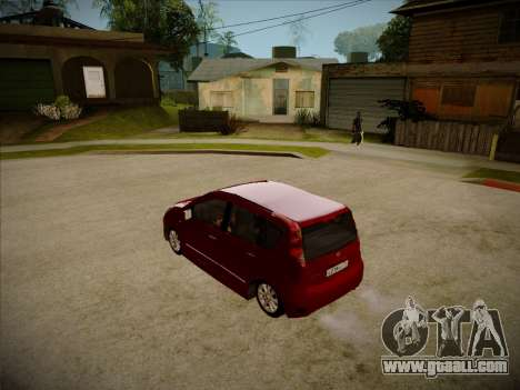 Nissan Note 2008 for GTA San Andreas right view