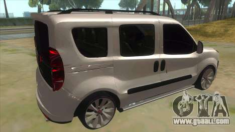 Fiat Doblo 2015 Series for GTA San Andreas right view