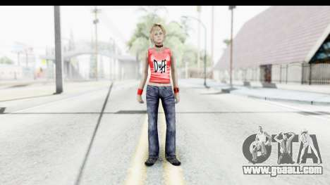 Silent Hill 3 - Heather Sporty Red Duff Beer for GTA San Andreas second screenshot