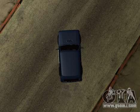 Niva 2121 Armenian for GTA San Andreas inner view