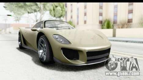 GTA 5 Pfister 811 IVF for GTA San Andreas