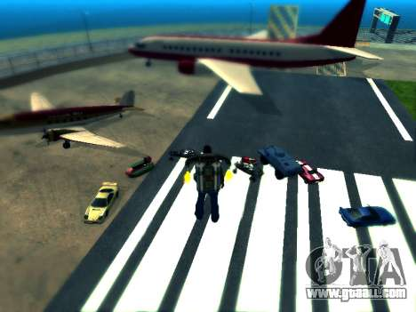 Cars spawn for GTA San Andreas