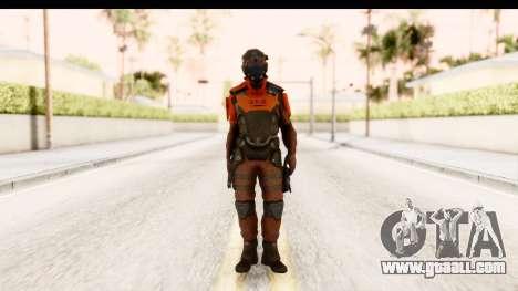 Homefront The Revolution - KPA v2 Red for GTA San Andreas second screenshot
