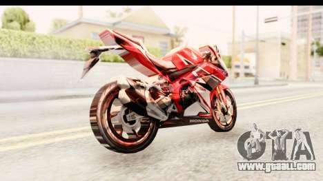 Honda CBR250RR for GTA San Andreas right view