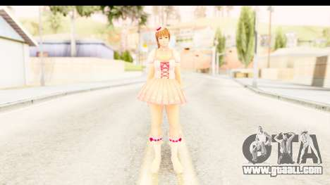 DoA 5 - Ultimate Kasumi Pop Idol Team D for GTA San Andreas second screenshot