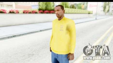 I Feel Like Kobe Sweatshirt for GTA San Andreas second screenshot