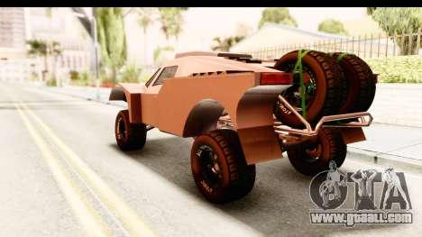 GTA 5 Desert Raid SA Lights PJ for GTA San Andreas left view