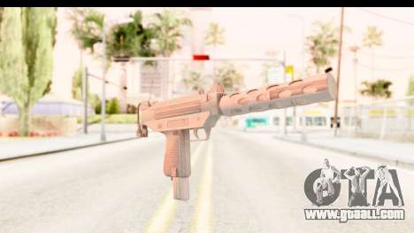 RE2 - Machine Gun for GTA San Andreas second screenshot