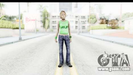 Silent Hill 3 - Heather Sporty Green Evolution for GTA San Andreas second screenshot