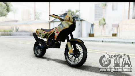 GTA 5 Nagasaki BF400 Custom v1 IVF for GTA San Andreas right view