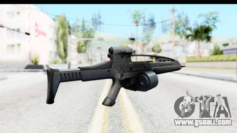 H&K XM8 Drum Mag for GTA San Andreas second screenshot