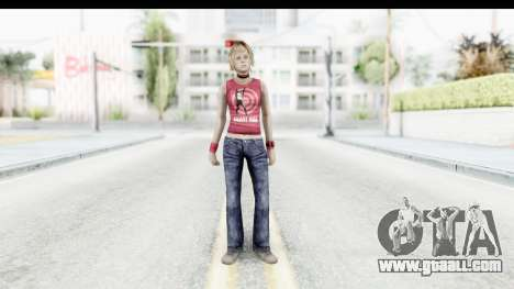 Silent Hill 3 - Heather Sporty Red Silent Hill for GTA San Andreas second screenshot