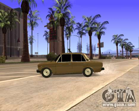 VAZ 2106 Armenian for GTA San Andreas interior