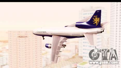 Lockheed L-1011-100 TriStar Caledonian for GTA San Andreas left view