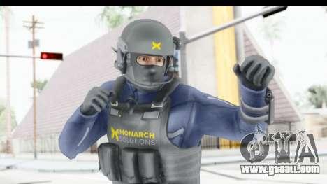 Quantum Break Monarch Operators for GTA San Andreas