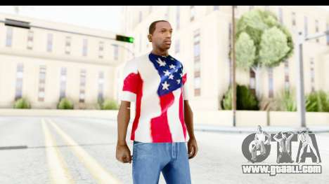T-Shirt USA Flag for GTA San Andreas