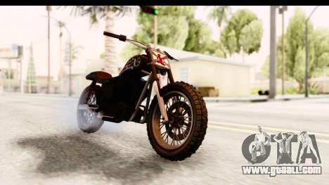 GTA 5 Western Cliffhanger Custom v1 IVF for GTA San Andreas