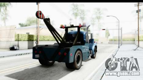 Mack B-61 1953 Towtruck v1 IVF for GTA San Andreas left view