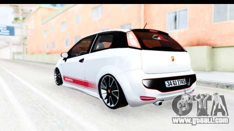 Fiat Punto Abarth for GTA San Andreas right view