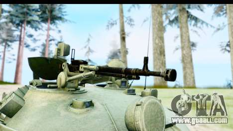 T-62 Wood Camo v1 for GTA San Andreas