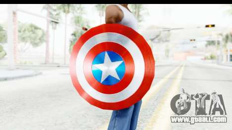 Capitan America Shield AoU for GTA San Andreas third screenshot