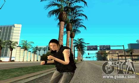 Female trainer SWAT for GTA San Andreas seventh screenshot