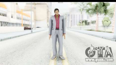 Yakuza 5 Kazuma Kiryu for GTA San Andreas second screenshot