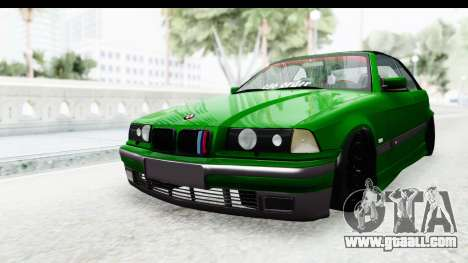 BMW M3 E36 Sloboz Edition for GTA San Andreas right view