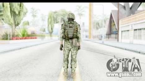 Croatian Soldier for GTA San Andreas third screenshot