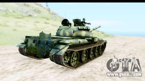 T-62 Wood Camo v3 for GTA San Andreas