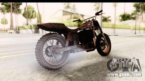 GTA 5 Western Cliffhanger Custom v1 IVF for GTA San Andreas left view