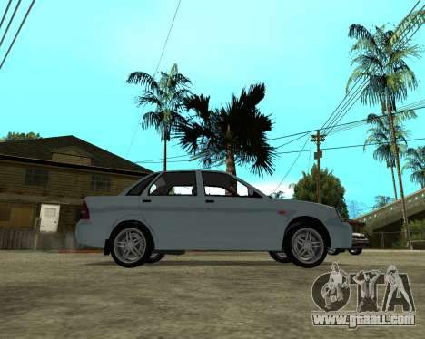 Lada Priora Armenia for GTA San Andreas right view