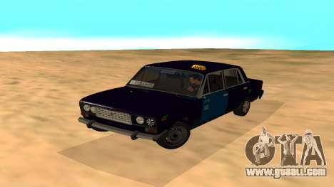 VAZ-2106 to GVR early version for GTA San Andreas