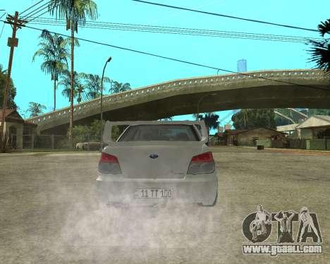 Subaru Impreza Armenian for GTA San Andreas engine